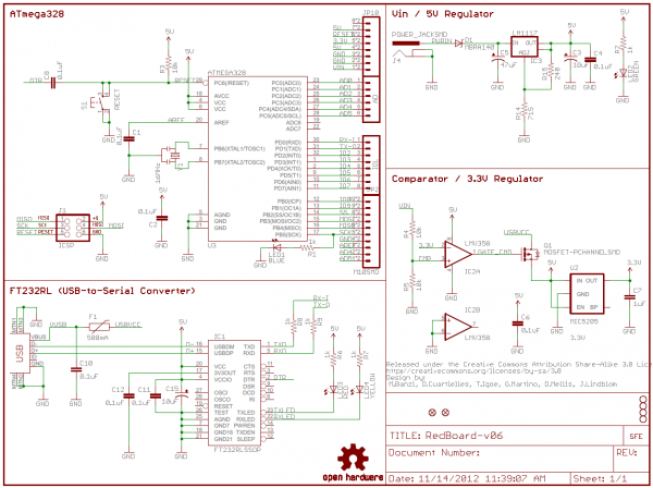 How to Read a Schematic | innovative element maker space